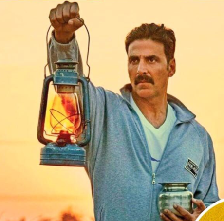 "Akshay Kumar wishes Gandhi Jayanti with thought ""cleanliness starts from itself"""