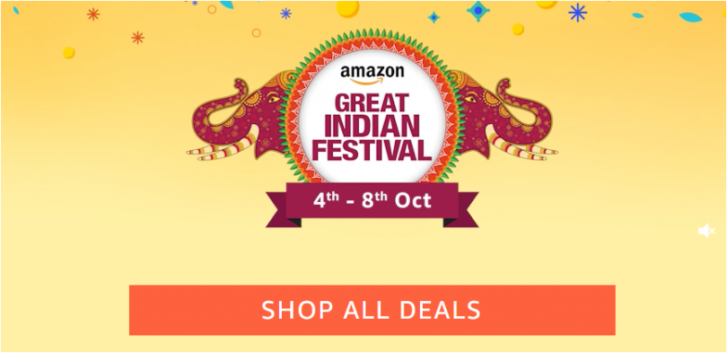 Amazon Great Indian Festival sale begins today; upto 80% discount on all products