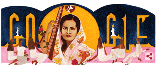 Begum Akhtar 103rd birth anniversary marks by Google Doodle