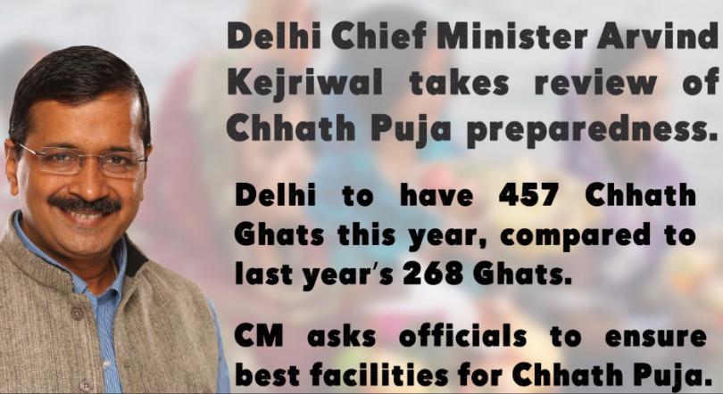 Chhath Puja 2017: Delhi Government arrange 457 Yamuna Ghat