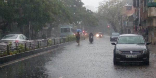 Chennai Weather: Heavy Rainfall due to Cyclonic Pressure over Bay of Bengal