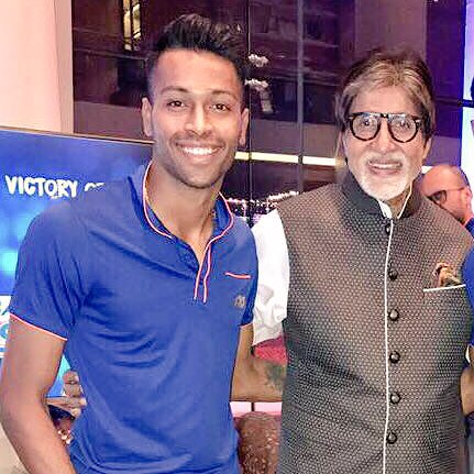 Hardik Pandya feels privilege to share his birthday with legendary Amitabh Bachchan