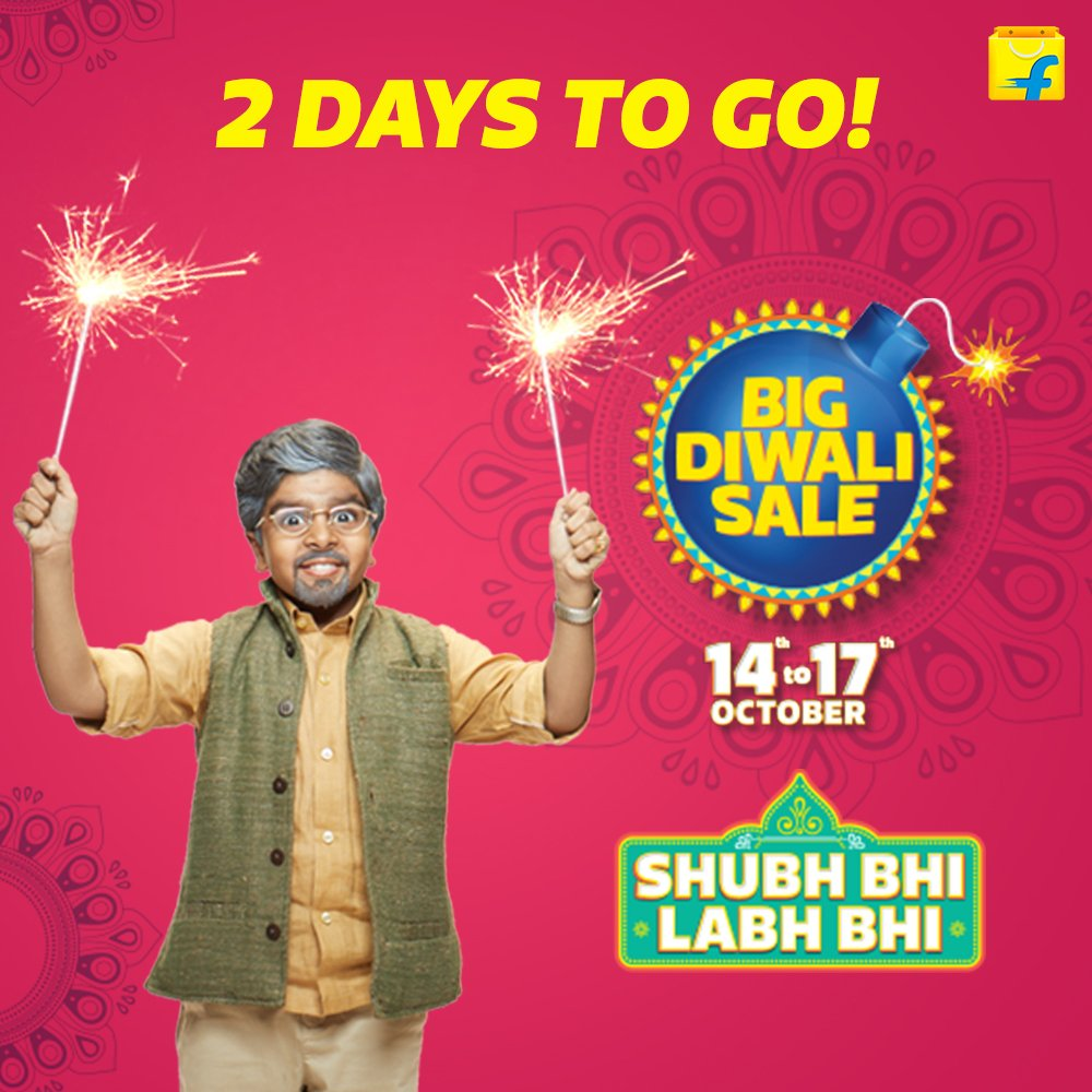 Flipkart offers Big Diwali Sale to attract costumers