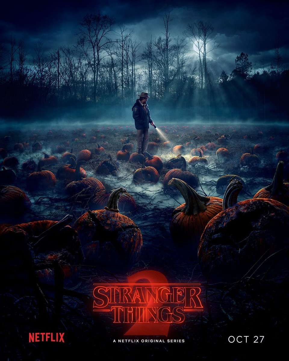 Stranger things and Mindhunter coming to Netflix on October