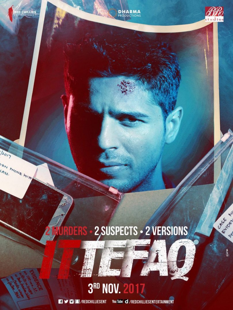 Ittefaq Se song released from Ittefaq movie Sonakshi Sinha and Siddharth Malhotra