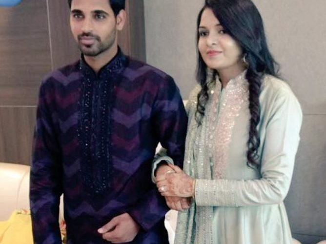 Bhuvneshwar Kumar getting hitched with Nupur Nagar, check the couple looking stunning