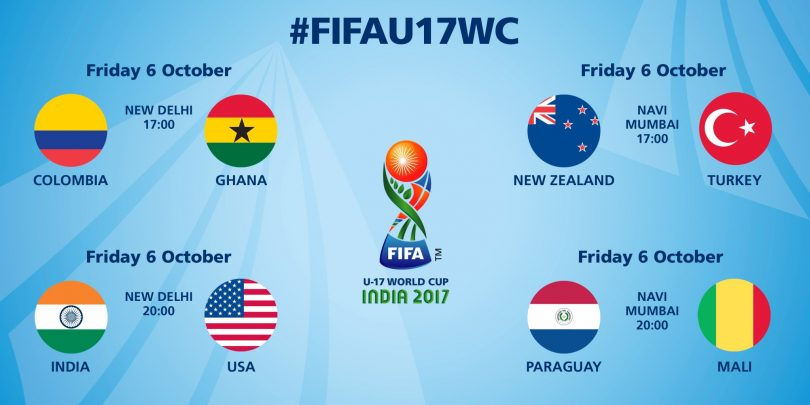 FIFA U-17 World Cup 2017, squads are receiving unconditional support and love