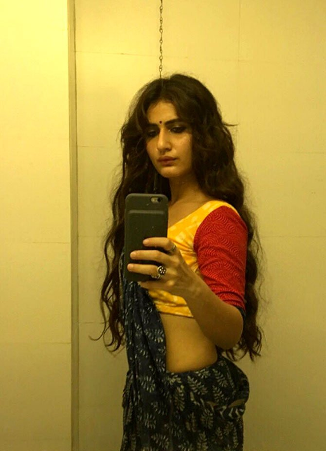 Fatima Sana Shaikh drives people crazy with risque selfie