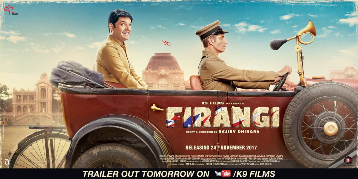 Second Poster of Kapil Sharma Starrer 'Firangi' Out, Trailer Releasing Tomorrow