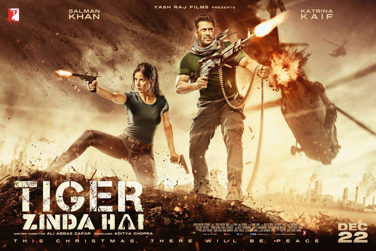 Salman unveils poster of 'Tiger Zinda Hai' on Twitter
