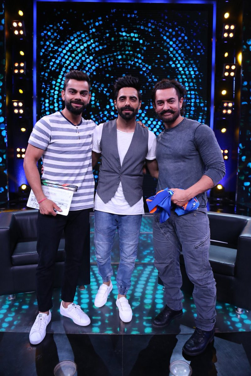 Aamir Khan and Virat Kohli to appear on Diwali Special chat show at Zee Tv