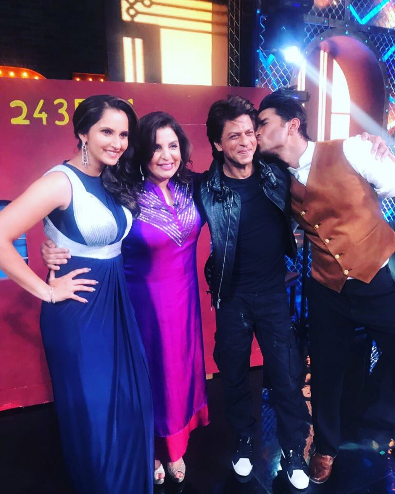 Farah Khan teases a special episode on Lip Singh Battle with Shahrukh Khan, Sania Mirza and Sushant Singh