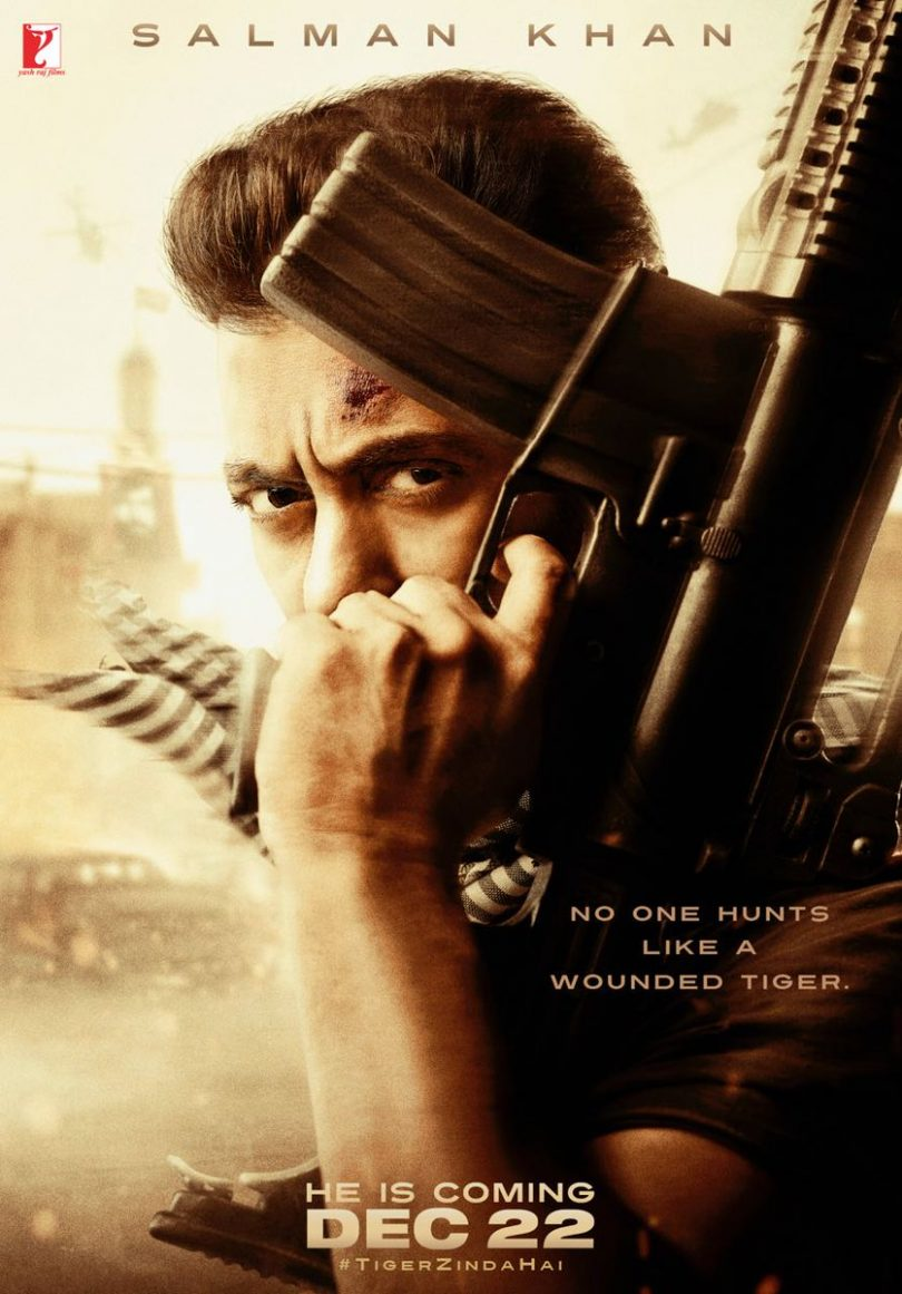 Salman Khan's Tiger Zinda Hai to be released on 22 December 2017, First Poster released