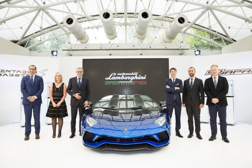 Lamborghini presents Aventador S Roadster Japan Edition
