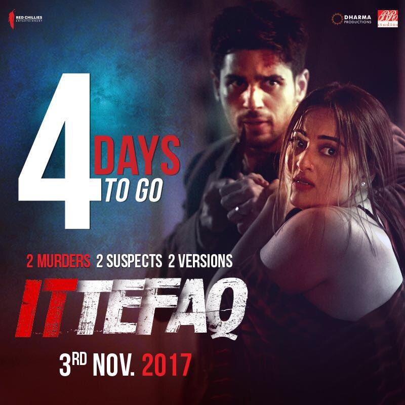 Ittefaq Sonakshi Sinha And Sidharth Malhotra Say No To Movie Spoilers