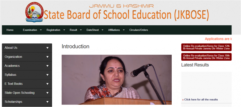 JKBOSE result 2017 of 10th, 12th  bi-annual Kashmir and Leh division declared at jkbose.co.in