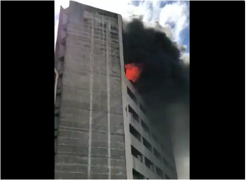 Kolkata Jeevan Sudha Building wrecks by massive fire; No loss and injuries have reported