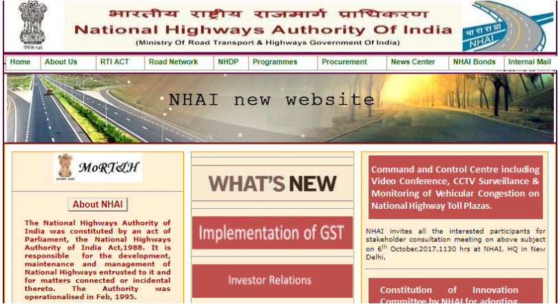 NHAI Recruitment 2017 notification released at www.nhai.org; Register now for walk-in-interview