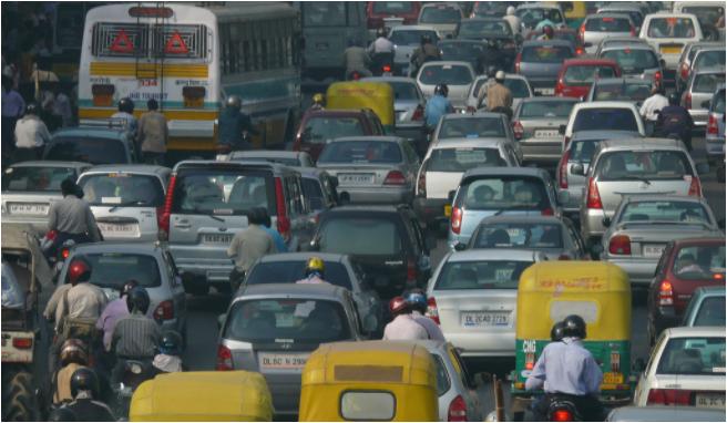 Odd-even rule to implement again for increased Delhi pollution level