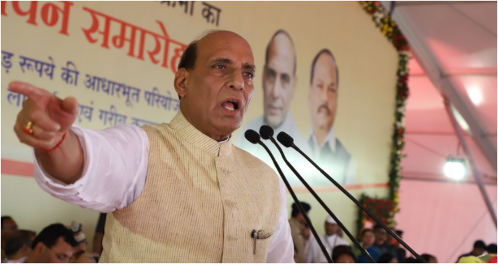Rajnath Singh announces sustained dialogue with stakeholders to resolve Jammu and Kashmir issue