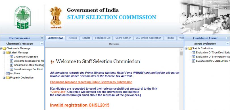 SSC updates: Stenographer course answer keys released; Check result date for SSC CGL and CHSL