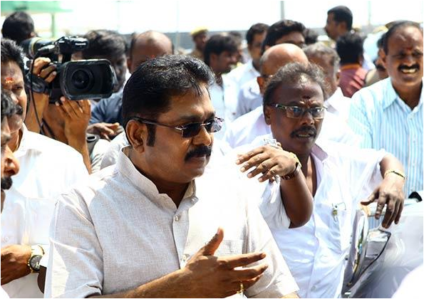 TTV Dinakaran AIADMK leader moves to SC for Two leaves symbol case; EC hearing today