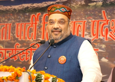 BJP Chief Amit Shah blames congress to convert Dev Bhoomi to Mafia Bhumi in Himachal rally