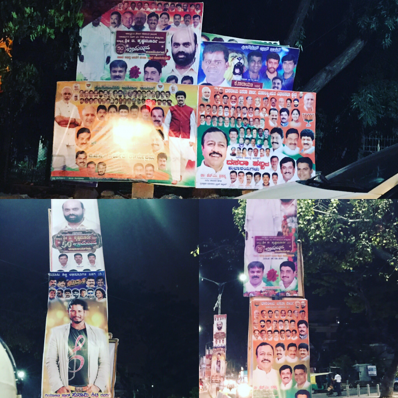 Madras High Court bans the hoardings at the traffic junctions in Tamil Nadu