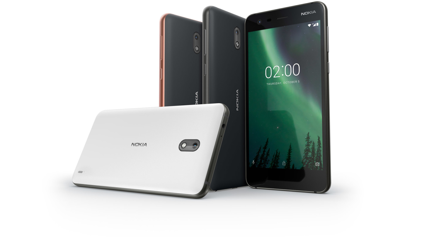 Nokia 2 Launches for $115 With 2-Day Battery Life