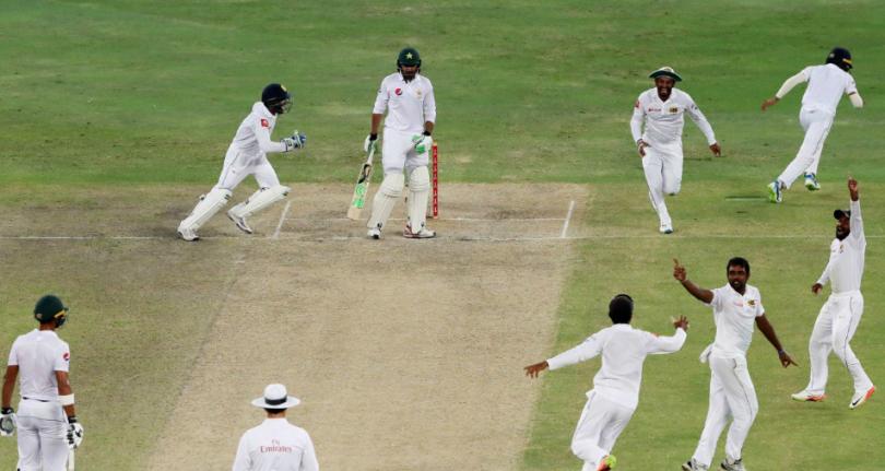 Pakistan VS Srilanka 2nd Test Match result 2017: SL Wins by 68 runs