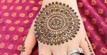 Circular Motif Mehndi