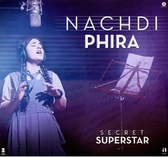 Secret Superstar song Nachdi Phira of Aamir Khan out now featuring Zaira Wasim