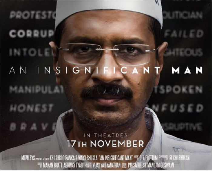 An Insignificant Man Review: Untold story behind Arvind Kejriwal and Aam Aadmi Party formation