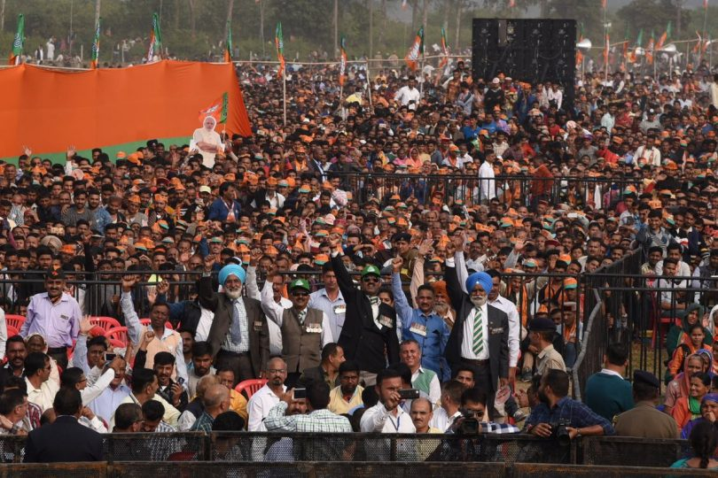 Narendra Modi to address the public in Una, Himachal Pradesh