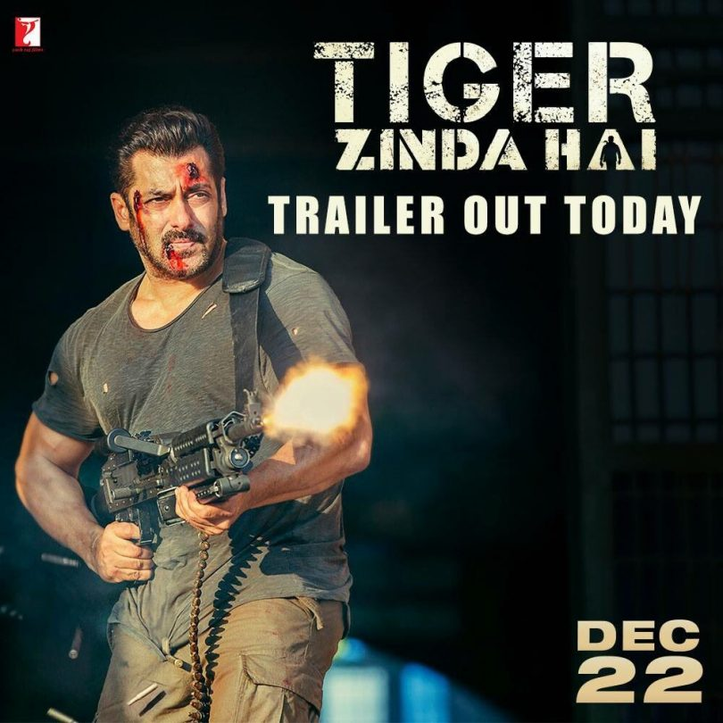Tiger Zinda Hai trailer released: Salman Khan is back in the action hero mode