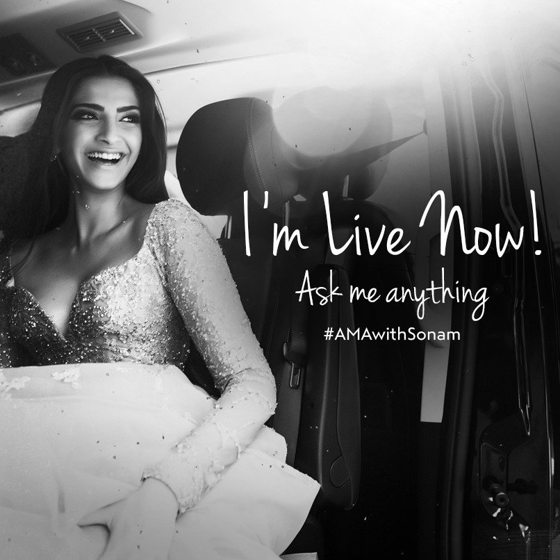 Sonam Kapoor answers fans' questions on Twitter