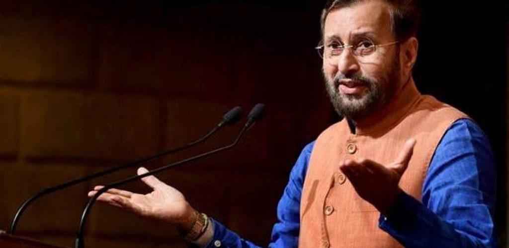 HRD Minister Prakash Jawdekar counter attack on Congress over Unemployment Buzz