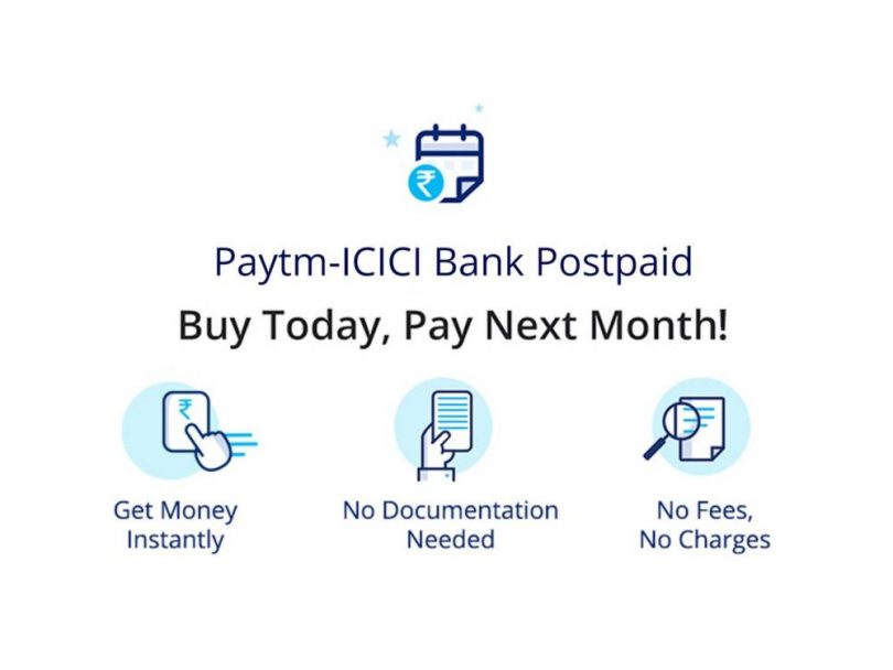 ICICI Bank and Paytm, offers interest-free short-term digital loan up to Rs 20,000