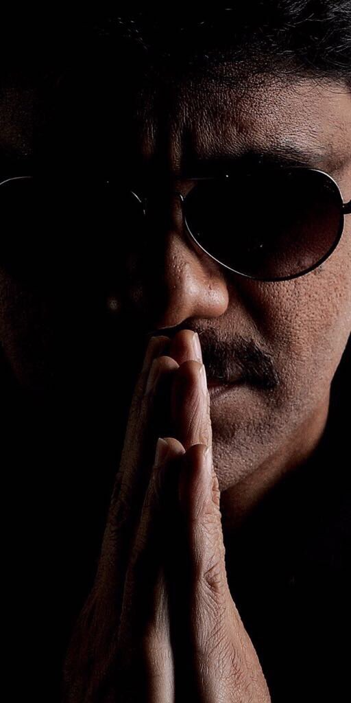 Nag-RGV first look revealed, Nagarjuna Akkineni's new look for the movie