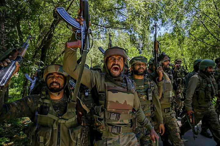 Three LeT terrorists from Pakistan killed in north Kashmir encounter