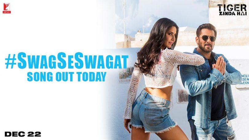Tiger Zinda Hai, Swag Se Swagat song released