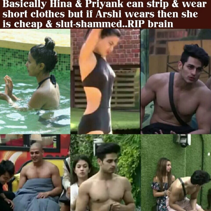 Bigg Boss 11: Priyank Sharma trolled for his sexist comments toward Arshi Khan