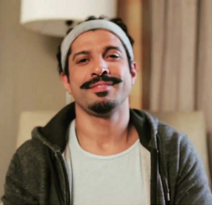 Farhan Akhtar takes Break the Beard challenge, impresses fans