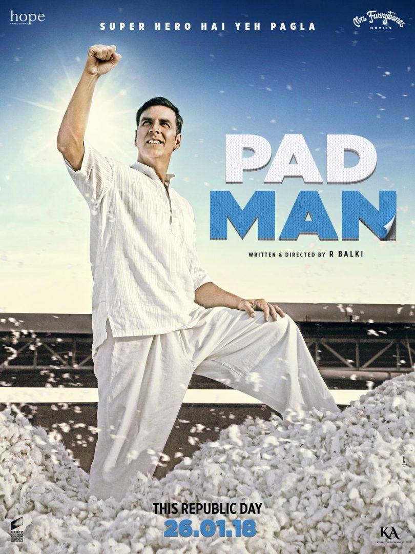 Padman movie poster released: Akshay Kumar is a common superhero