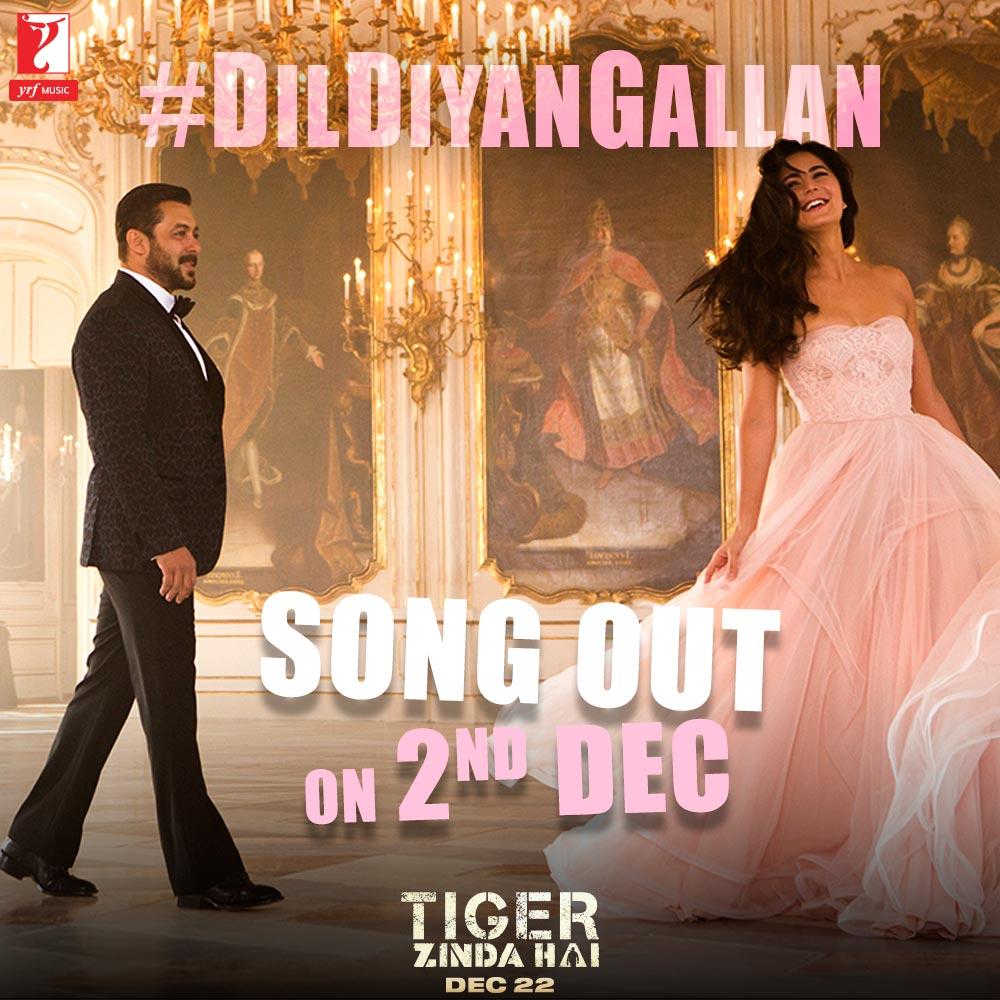 Dil Diyan Gallan Mp3 Song Download: Tiger Zinda Hai: Dil Diyan Gallan To Premiere On Colors TV