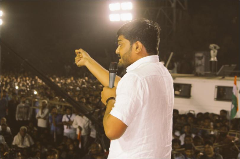 Patidars Hardik Patel to support Congress in Gujarat polls; BJP's Nitin Patel calls him fool
