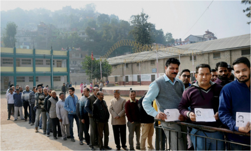 Himachal Pradesh elections 2017: Polling ends now; 64% total voter turnout recorded