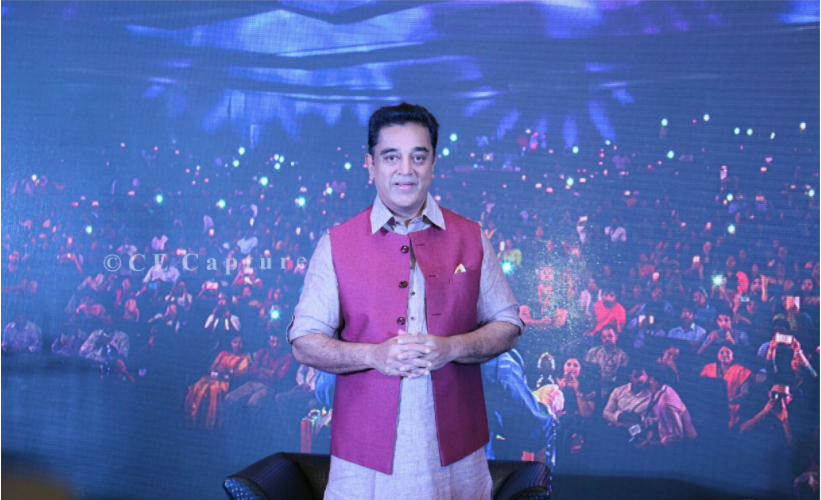 Kamal Haasan launches Maiyam Whistle app for public to fight against corruption