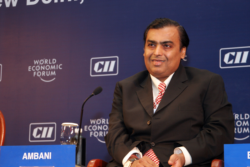 Mukesh Ambani becomes Asia's richest man as per Forbes Real-time Billionaire list