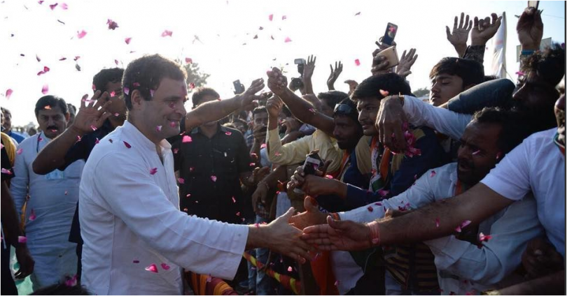 Congress VP Rahul Gandhi holds Navsarjan Yatra in Gujarat ahead of Assembly elections